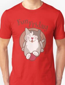 Fun Friday Days of the Week Cat T-Shirt