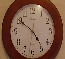 Wall clock by Andrew Turley