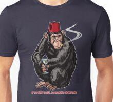 Chimp With A Fez Unisex T-Shirt