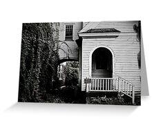 Dark Arches Greeting Card