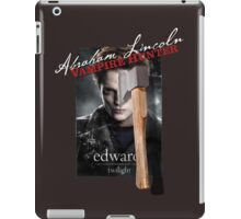 Abraham Lincoln Twilight Hunter iPad Case/Skin