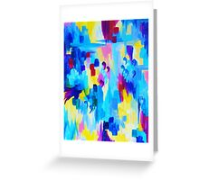 DONT QUOTE ME, Revisited Bold Abstract Acrylic Painting Gift Art Home Decor  Greeting Card