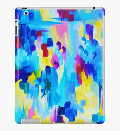 DONT QUOTE ME, Revisited Bold Abstract Acrylic Painting Gift Art Home Decor  iPad Case/Skin