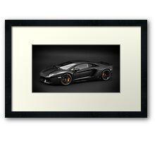 Lamborghini Aventador LP700-4 Framed Print
