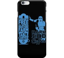 Dark Side Coffee  iPhone Case/Skin