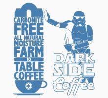 Dark Side Coffee  Kids Tee