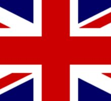 Union Jack, STICKER, British Flag, UK, United Kingdom, Pure & simple 1:2 Sticker