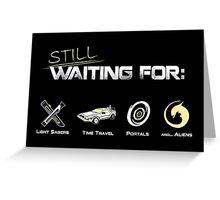 Still Waiting - Minimalist Greeting Card