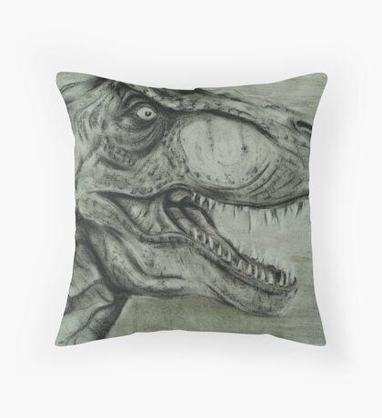 T rex Throw Pillow