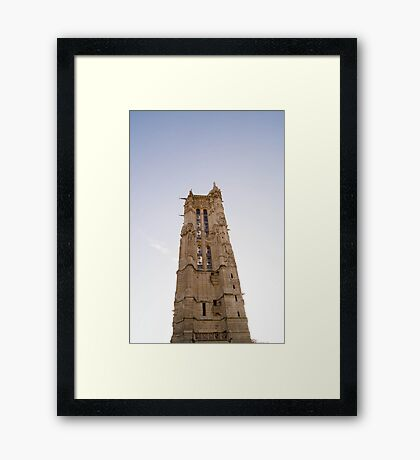 tower holy jack in Paris, France  Framed Print