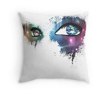 Active Optics Throw Pillow