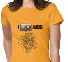 I [ANALOG] AUDIO Womens Fitted T-Shirt