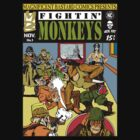 Fightin' Monkeys (Cover) by ZugArt