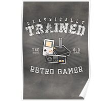 Classically Trained Retro Gamer Poster