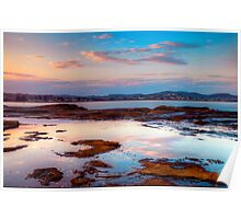Terrigal Haven. (sunset) Poster