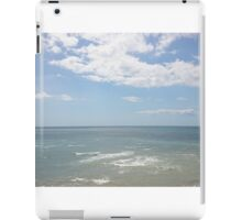 View of the sea iPad Case/Skin