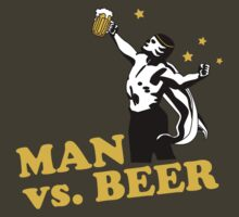 Man vs. Beer by loku