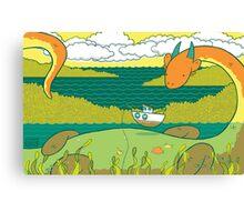 Loch Nessie Canvas Print