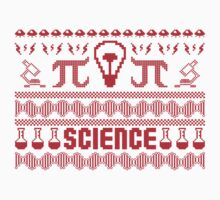 Science Ugly Christmas Sweater by hussainyasso