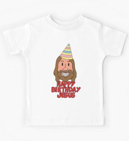 Happy Birthday Jesus Kids Tee