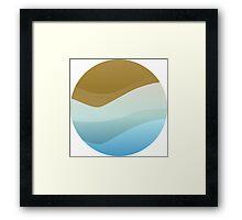 Tidal Leadership Logo (.PNG) Framed Print