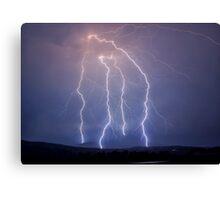 Kalbar Lightning Canvas Print