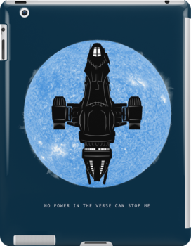 No Power in the Verse by geekchic  tees