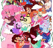 Steven Universe Family by highjinkx