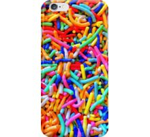 Colorful noodles iPhone Case/Skin