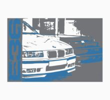 BMW E36 POP-ART (horizontal) by GKuzmanov