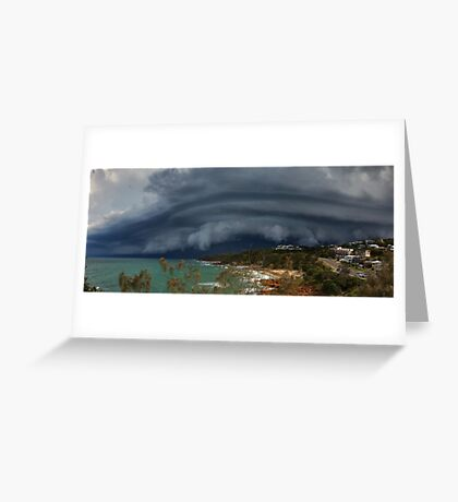 Coolum Beach Storm Greeting Card