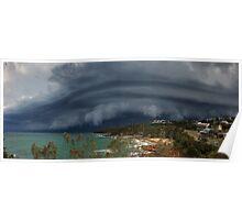 Coolum Beach Storm Poster