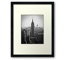 Empire State of Mind | New York 2012 Framed Print