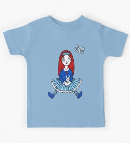 Red Haired Alice Kids Tee