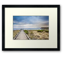 Pyramid Rock, Phillip Island Framed Print