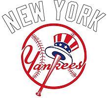 NEW YORK YANKEES BASEBALL Photographic Print