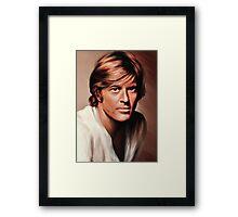 Robert Redford Framed Print