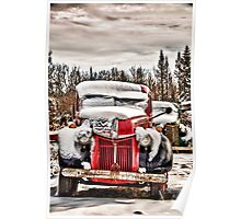 Old Trucks in HDR#9 Poster