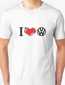 I Love VW. T-Shirt