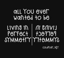 Coldplay - Perfect Symmetry (White) by JuliaJean1