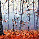 Autumn Woodland by Graham Gercken