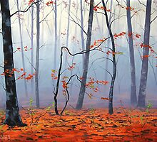 Autumn Woodland by Graham Gercken