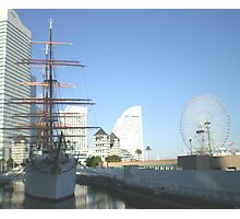 great view of patterns in yokohama Photographic Print