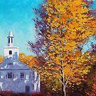 White wash Church by Graham Gercken