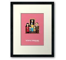 'The Royal Tenenbaums' tribute Framed Print