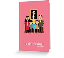 'The Royal Tenenbaums' tribute Greeting Card