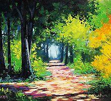 Forest Path by Graham Gercken