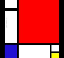 Mondrian ipad_Cover by ANDIBLAIR