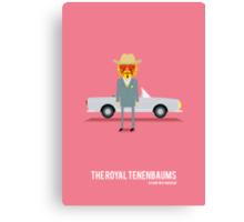 'The Royal Tenenbaums' tribute Canvas Print
