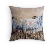 Swaledales on the Hill Throw Pillow